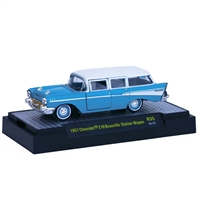 M2 Machines - Auto-Thentics (R35) - 1957 Chevy 210 Beauville Wagon