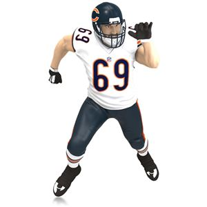 2015 Jared Allen Chicago Bears