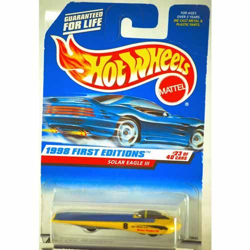 Hot Wheels 1998 First Editions - Solar Eagle III