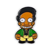 Kidrobot The Simpsons Enamel Pin Series - Apu