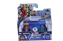 Marvel Minimates - Ms. Marvel & KANG THE CONQUEROR  Avengers Assemble