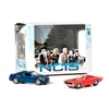 Greenlight - 2009 Dodge Charger & 1970 Plymouth Cuda (From TV Show NCIS)