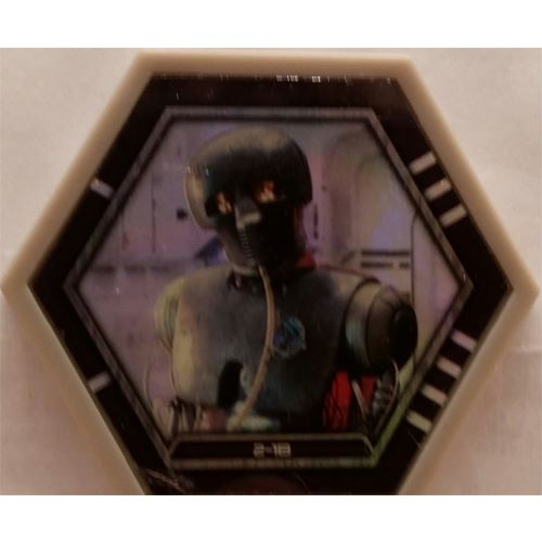Star Wars Galactic Connexions - 2-1B - Gray/Holographic Foil - Common