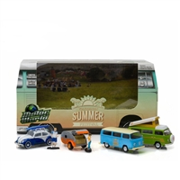Greenlight Motor World Diorama - Volswagen Summer Festival