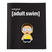 Kidrobot Adult Swim Enamel Pin Series 1 - Morty  (Rick and Morty)
