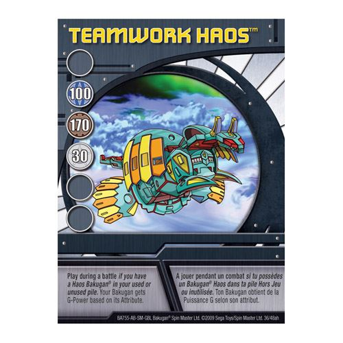 Ability Card - Teamwork Haos