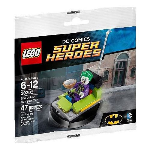 Lego DC Super Heroes - The Joker Bumper Car (30303)