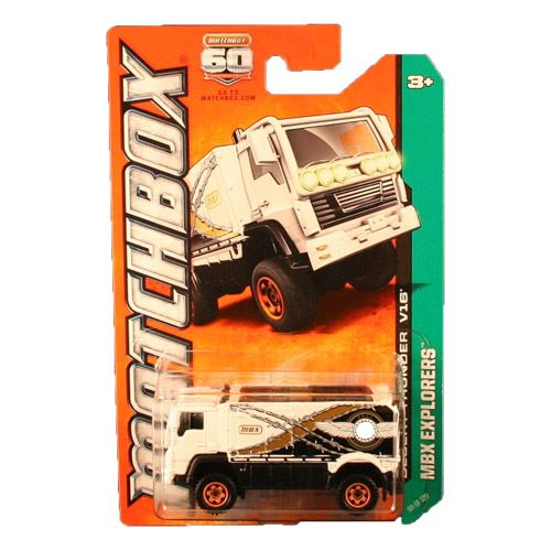Matchbox 2013 Explorers - Desert Thunder V16 (White)
