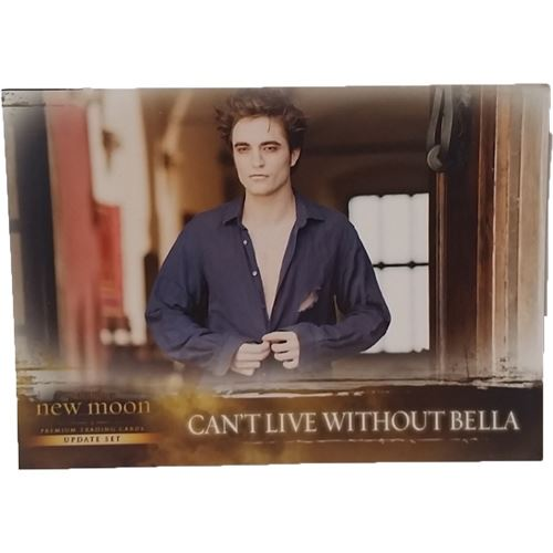 Twilight - New Moon Trading Card (Update Set) #80 - Can't Live Without Bella