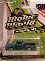 Greenlight - Motor World Series 16 - 1956 Ford F-100 Green Machine