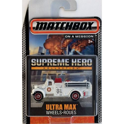 Matchbox Supreme Heroes Collection - 1963 Mack B Fire Truck