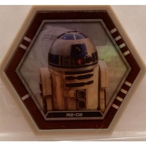 Star Wars Galactic Connexions - R2-D2 - Gray/Holographic Foil - Common