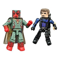 Marvel Minimates - Captain America Civil War - Vision & Hawkeye