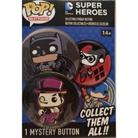 Funko POP! Buttons - DC Comics Super Heroes - The Penguin