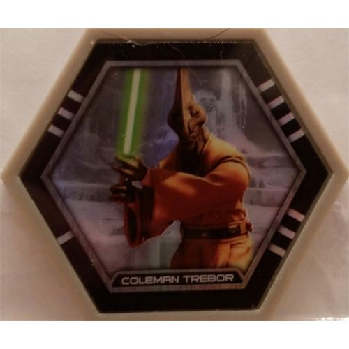 Star Wars Galactic Connexions - Coleman Trebor - Gray/Holographic Foil - Common