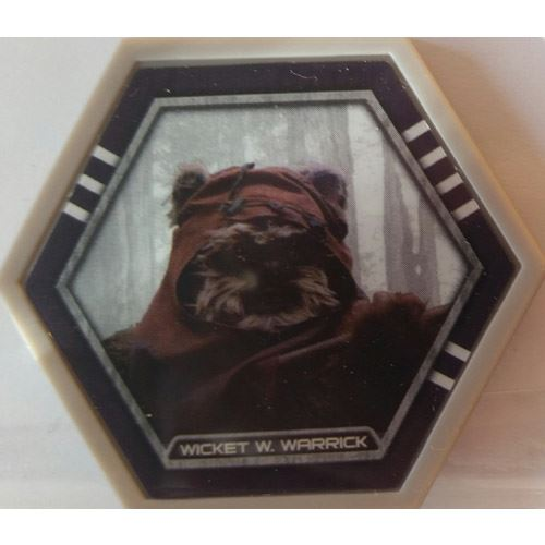 Star Wars Galactic Connexions - Wicket W. Warrick - Gray/Standard - Common