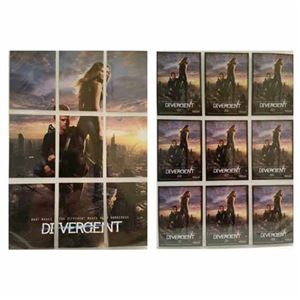 Bundle - 9 Items - Divergent Cards 63-71 Poster Cards