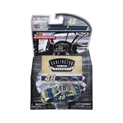 2016 NASCAR Authentics - Darlington Retro Paint Scheme - Lowe's - Jimmie Johnson