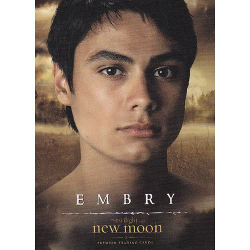 Twilight - New Moon Trading Card - #16 - Embry Call