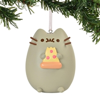 Department 56 Pusheen I Love Pizza Hanging Ornament