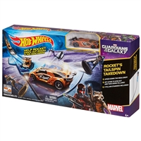 Hot Wheels - Marvel Guardians of the Galaxy - Rocket's Talespin Takedown Track Set
