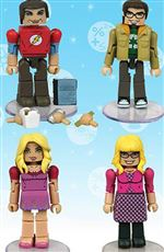 The Big Bang Theory Minimates Minifigure 4-Pack [Set #2]