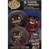 Funko POP! Buttons - DC Comics Super Heroes - Batman