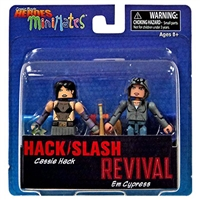 Minimates - Comic Book Heroes - Hack/Slash Revival - Cassie Hack & Em Cypress