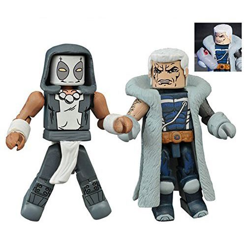 Minimates Series 65 - Zenpool & Messiah Complex Cable