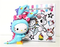 Tokidoki x Hello Kitty Series 2 Vinyl Figure - Kaiju Dragon