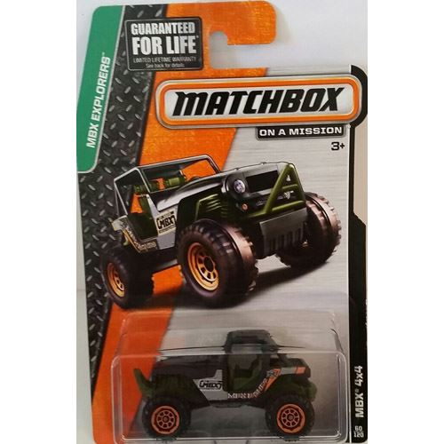 Matchbox Explorers - MBX 4x4  (60/120)