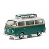 Greenlight - 1972 Volkswagen Type 2 - Green Van w/ Surfboards