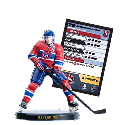 "2015 NHL 2.5"" Figure - Andre Markov - Montreal Canadiens (Common)"
