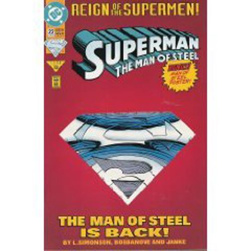 The Adventures of Superman - Reign of the Supermen #22 (June 1993)
