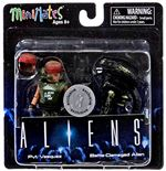 Aliens Series 1 - Pvt. Vasquez & Battle-Damaged Alien