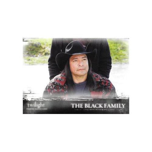 Twilight Premium Trading Cards - Card #22 - The Black Family