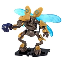 Mega Bloks Halo - Foxtrot Series - Mini Blind Bag Figure - Gold Drone
