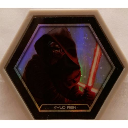 Star Wars Galactic Connexions - Kylo Ren - Gray/Holographic Foil - Common