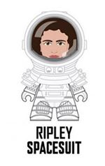 "Titans- Alien The Nostromo Collection' 3"" Vinyl Figure - RIPLEY SPACESUIT"