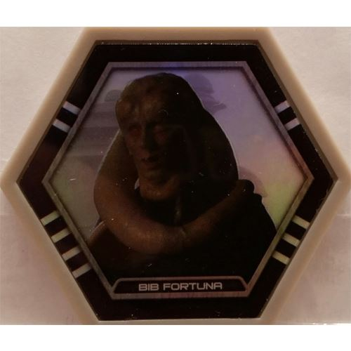 Star Wars Galactic Connexions - Bib Fortuna - Gray/Holographic Foil - Common