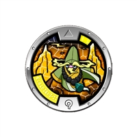 Yo-Kai Watch - Series 3 Medal - Alloo (1/24)
