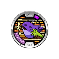 Yo-Kai Watch - Series 3 Medal - Peckpocket (5/24)