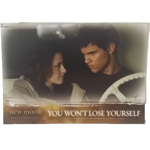 Twilight - New Moon Trading Card #60 -You Won't Lose Yourself