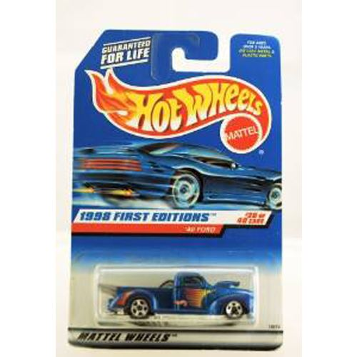 Hot Wheels 1998 First Editions - 1940 Ford Pickup