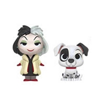 Funko Mystery Minis - Disney Villains - Cruella De Vil & Patch (101 Dalmations)