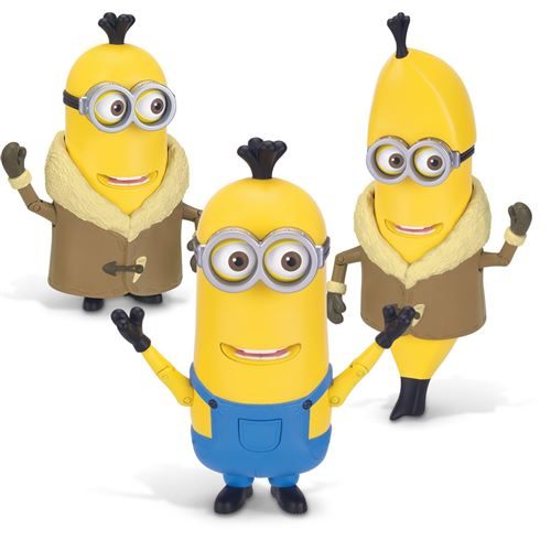 Minions Deluxe Action Figure - Build-A-Minion Arctic Kevin/Banana