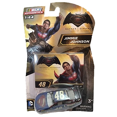 "2016 Nascar Authentics Batman vs Superman ""Dawn of Justice"" - Jimmie Johnson #48 (#1 of 4)"