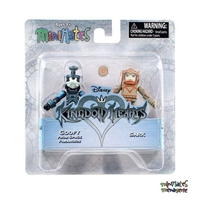 Minimates Kingdom Hearts Series 2 - Space Paranoids Goofy & Sark