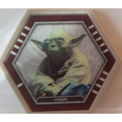 Star Wars Galactic Connexions - Yoda - Gray/Standard - Common