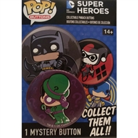 Funko POP! Buttons - DC Comics Super Heroes - Riddler